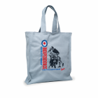 Original Vespa Shopping Bag  Indipendence grau