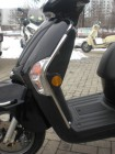 Beinschild-Bügel Kymco Like 50 125 200 Chrom