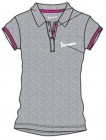 VESPA Damen Polo-Shirt grau