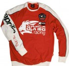 Aprilia Sweatshirt Größe XL Light Racing rot