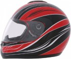 ROADSTAR Integral-Helm  Revolution , Dekor Wave rot