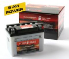 Speeds Motorrad Roller Säure Batterie CB4L-B Power 5AH